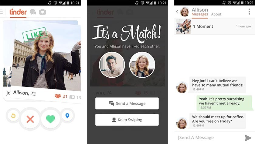 tinder dating app android download More than just a dating app, tinder has been updated to become one of the most engaging, fun and social apps around of course, finding matches is still a huge highlight—but with smart group chats, an awesome apple tv app, and super likes to go around, we're swiping right on this one.
