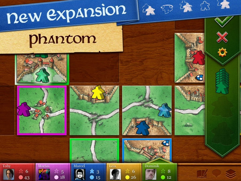 An Interesting Iphone Game-Carcassonne