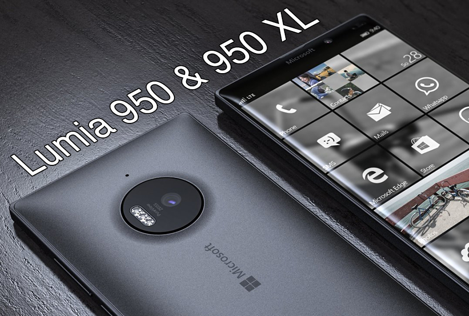 Microsoft Lumia 950/950 XL Will Be Launched In US On December 2