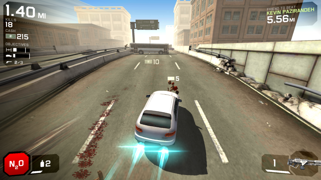 A Pretty Good Iphone Game-Zombie Highway2