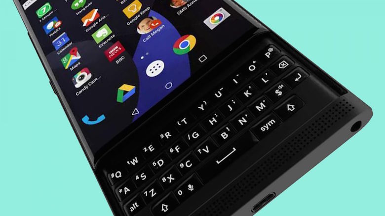 Blackberry priv Hands on 03