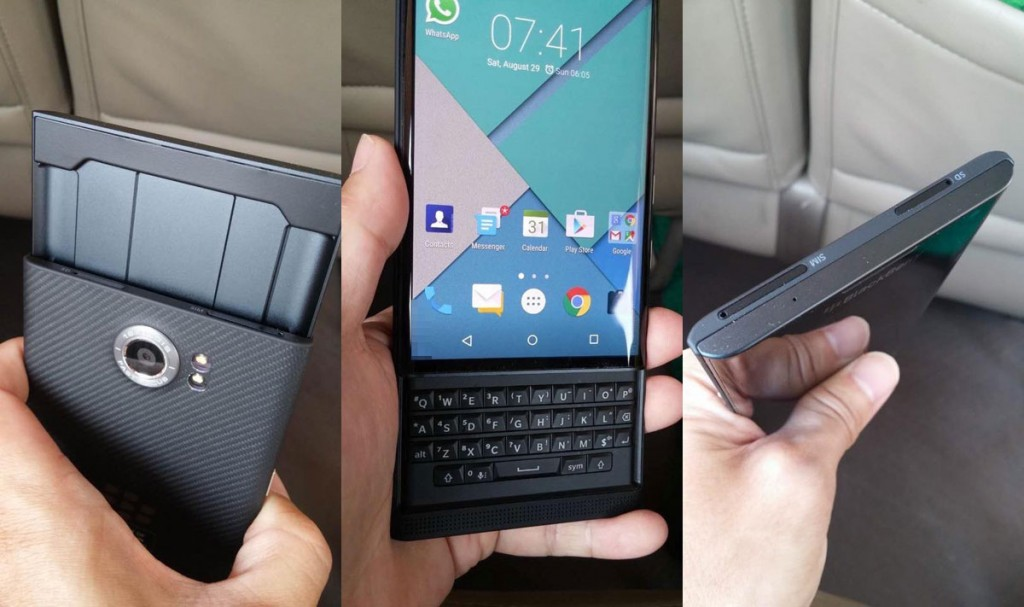 Blackberry priv hands on 02