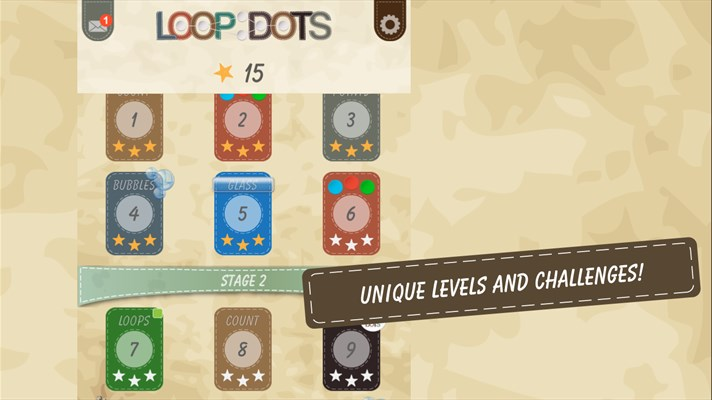 Loop Dots puzzle game for Windows Phone