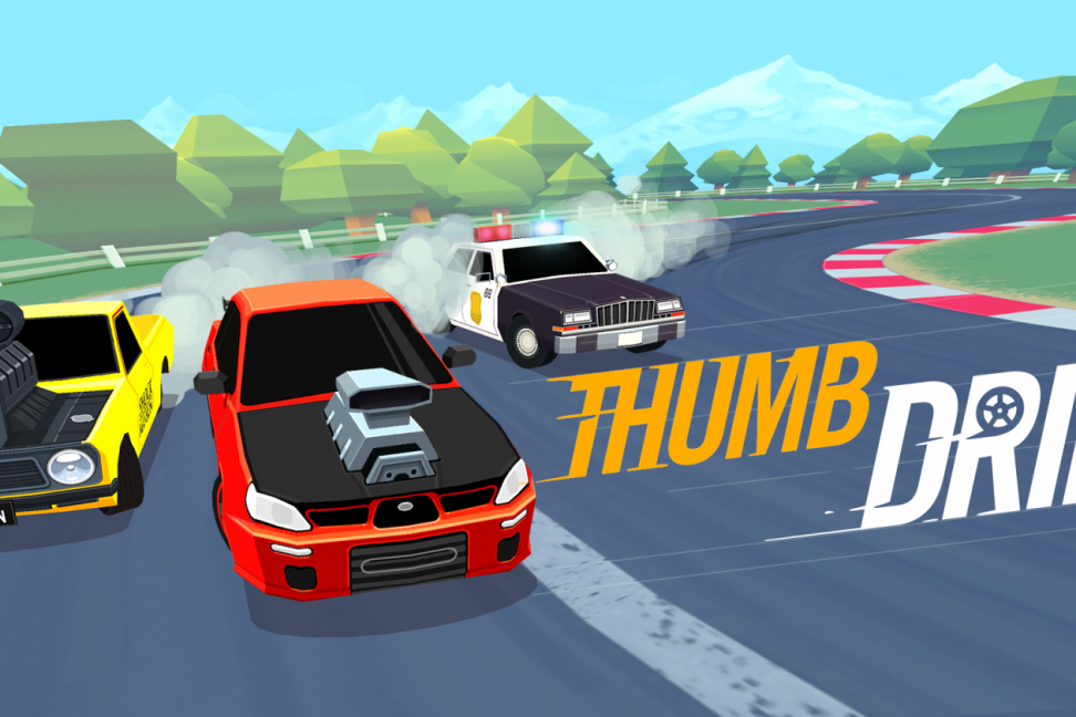 Thumb Drift driving game 03