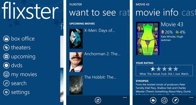 Flixster- best app of film