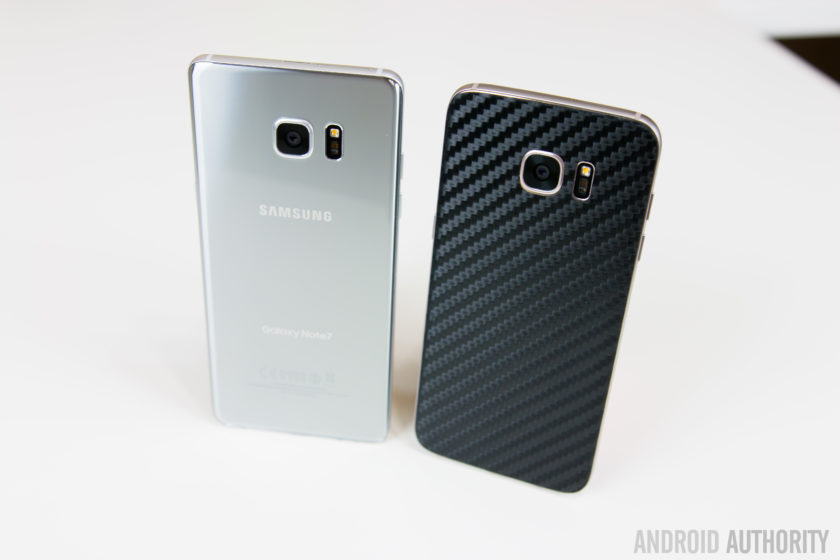 AMSUNG GALAXY NOTE 7 VS GALAXY S7 EDGE