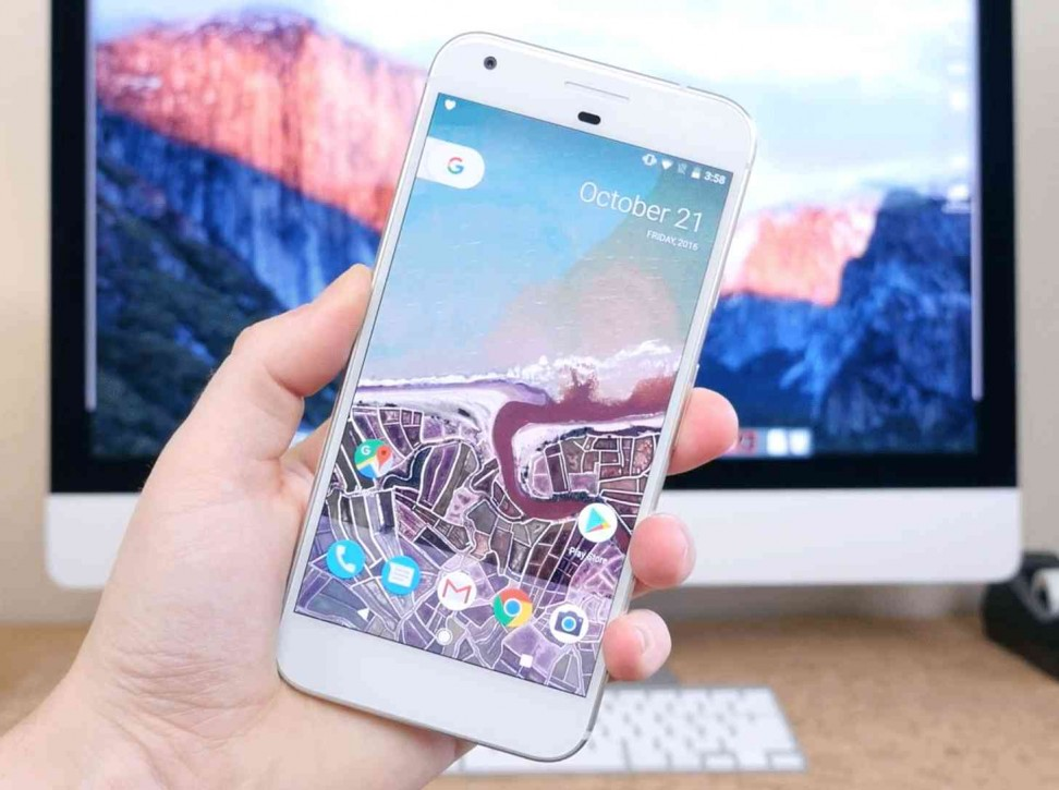 google pixelxl hands on small