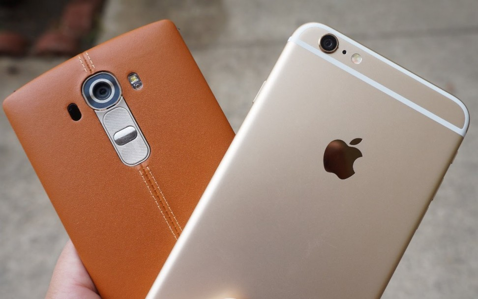 Wars of smartphone: iPhone 6s Plus vs LG G4