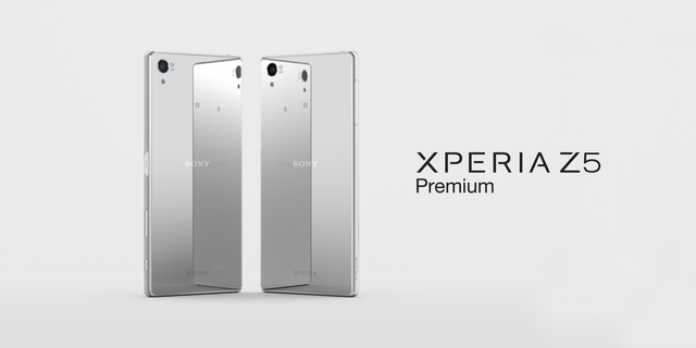A Smartphone With A Bold Rectangular Design -Sony Xperia Z5 Premium
