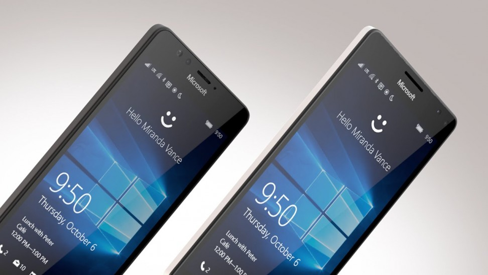 Bigger And Stronger-Microsoft lumia 950