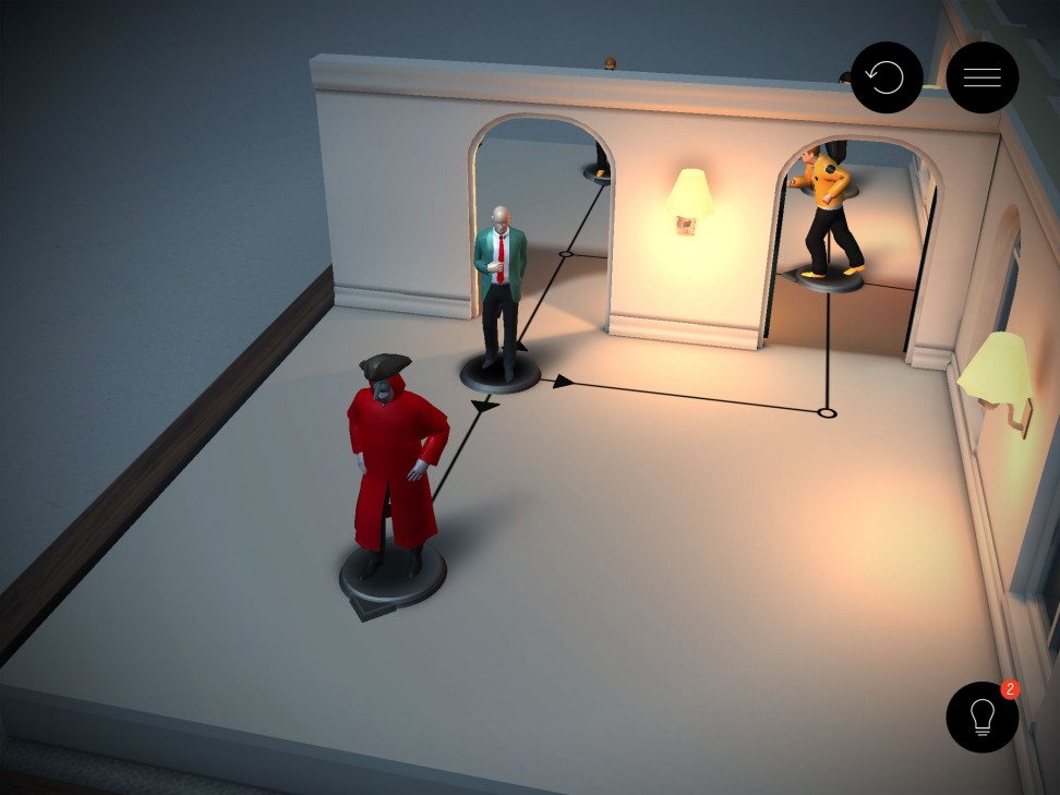 A funny game can kii the time- Hitman Go