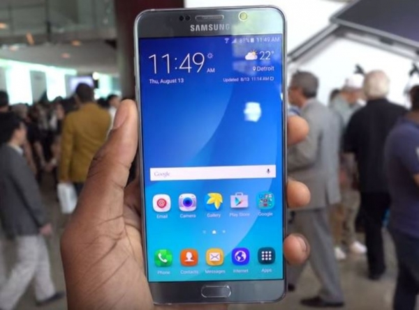 Dual SIM Galaxy Note5 can purchase in india 02