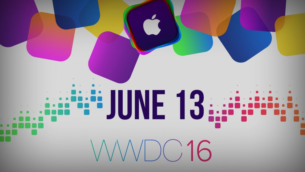 WWDC will happen on June 13